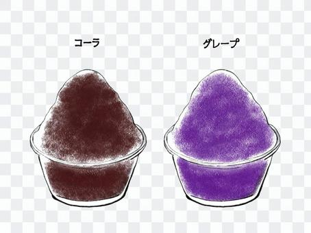 刨冰簡單手繪3