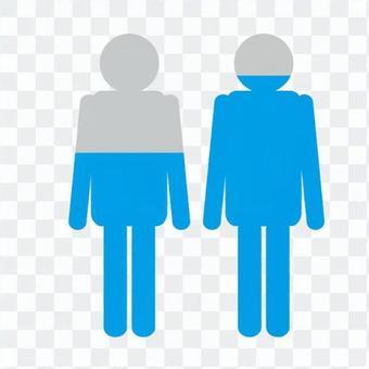 Human infograph