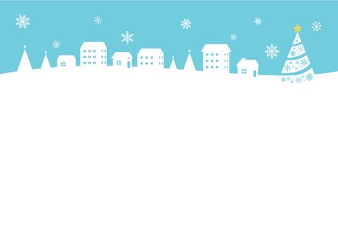 Winter landscape illustration (2)