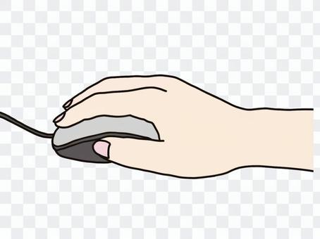 鼠標操作手點擊圖