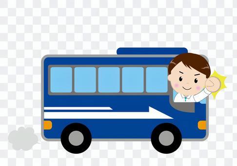 豪华巴士(与人)