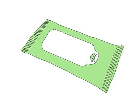 濕巾14張(彩色)