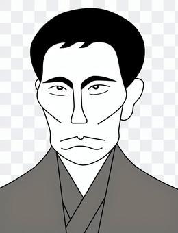 高杉卓(黑白)