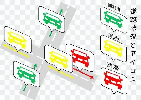 道路擁擠和圖標part.2