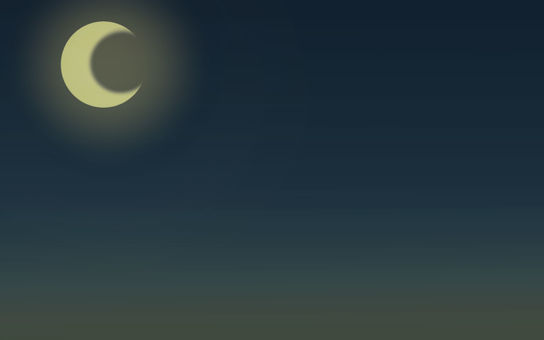Night moon background