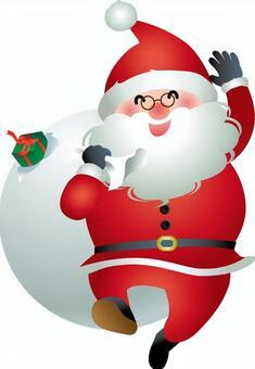 Santa Claus has come