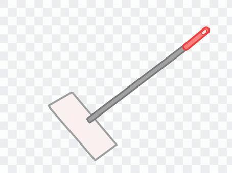 地板刮水器