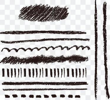 Crayon's line