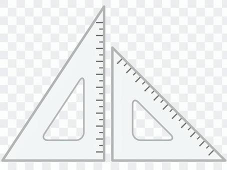 Triangular ruler _ 01
