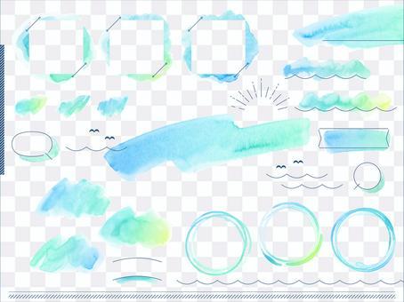 Watercolor layout_sea color 3