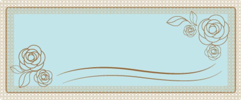 Logo banner 【Roses】
