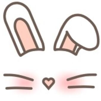 兔耳動物鬍子心
