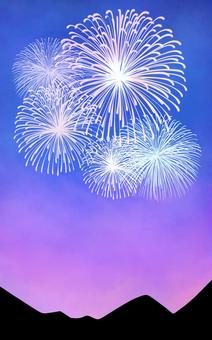 Fireworks and night sky ②
