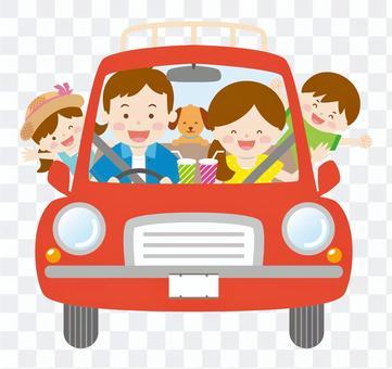 與家庭03_夏季開車