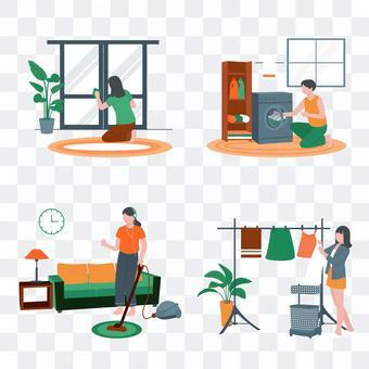 家務勞動圖集