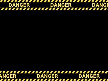 倒虎式膠帶框架:危險