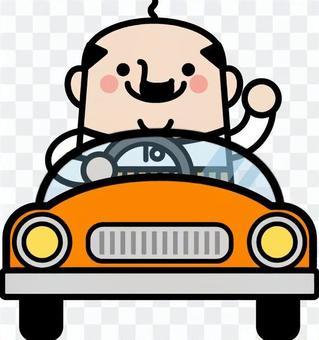 仙女叔叔開車