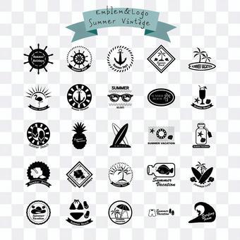 Summer Emblem Pack