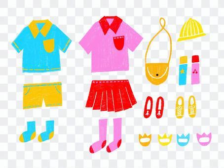 童裝協調套裝