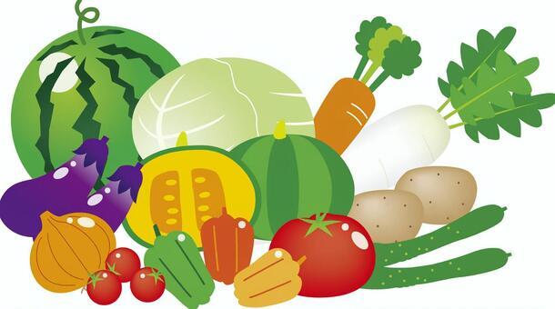 Pichi Pichi vegetables
