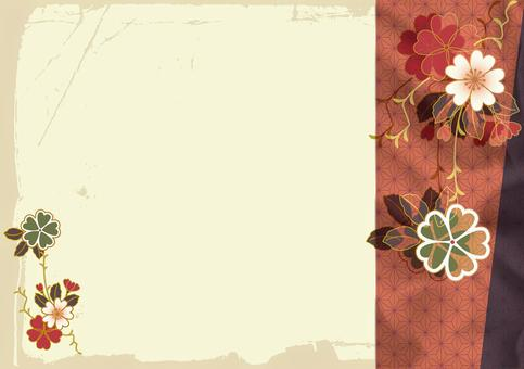 Japanese style background material 9