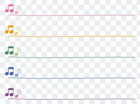 Simple omni crayon line set