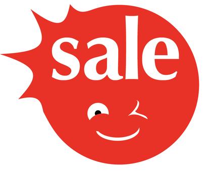 Sale's banner
