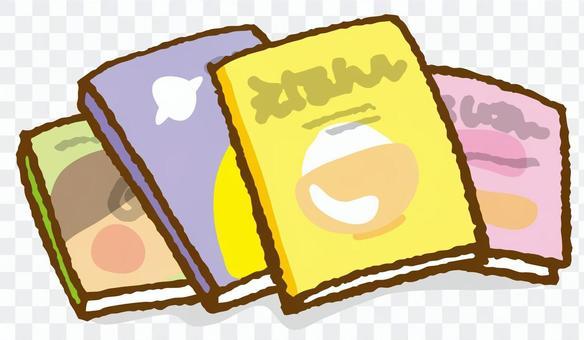 書籍3(為兒童安排的圖畫書)