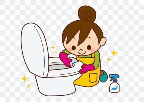 女性清潔 - 廁所