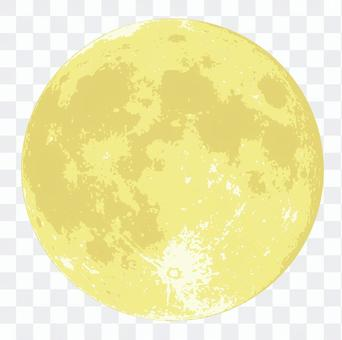 中秋節的月亮
