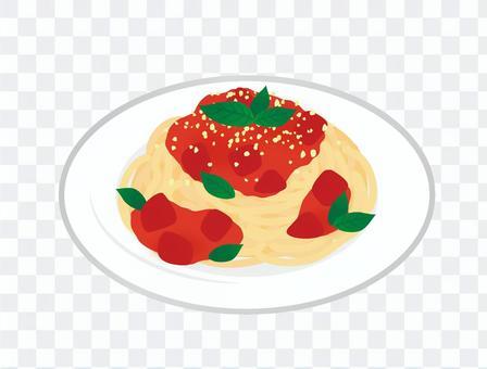 意大利面_番茄醬