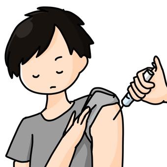 接種疫苗的男性預防