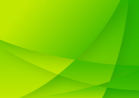 Green curved star pattern abstract background material