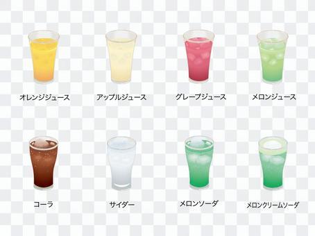果汁和可樂