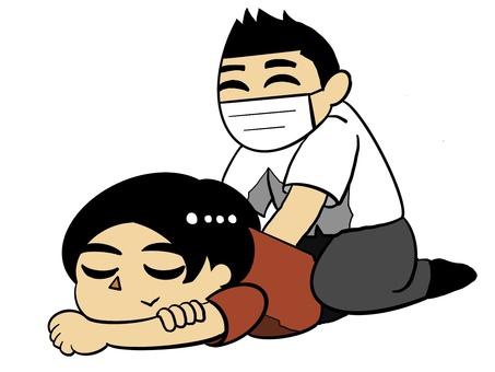 Massage manipulative rehabilitation