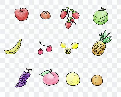手繪水果套