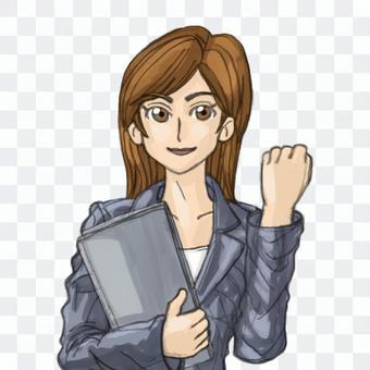 People female 6 suit