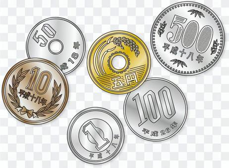 所有硬幣上漲20160706