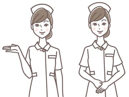 護士女士指導