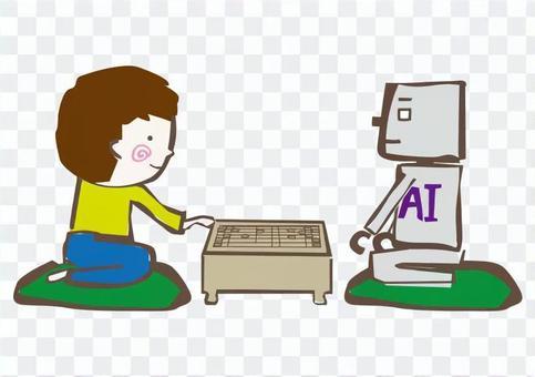 AI和Shogi男孩