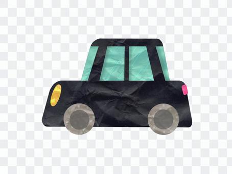 可愛的黑色車