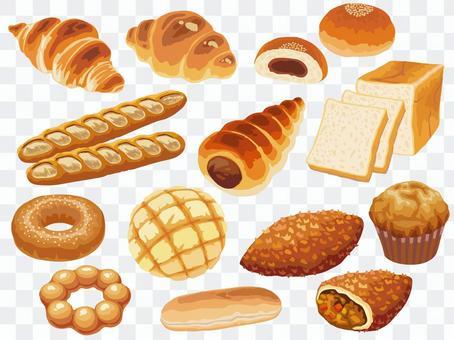 麵包(套)