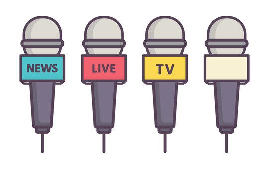 4 種類型的採訪麥克風