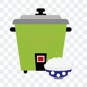 電飯煲和大米