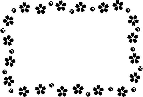 簡單的櫻花框架