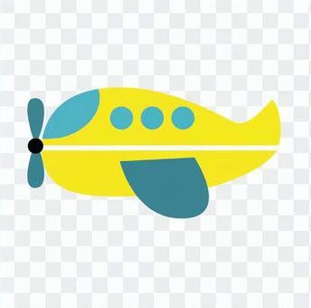 Yellow plane