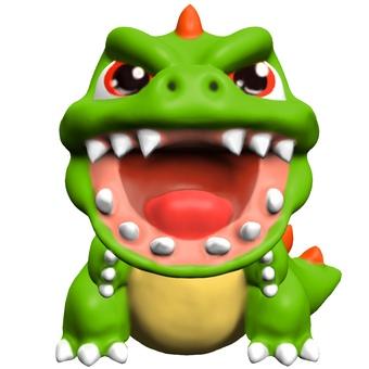 鬆散的怪物玩具變形CG