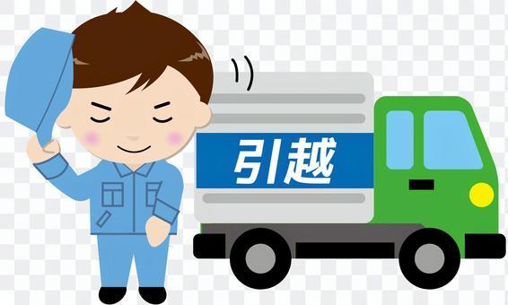 移動卡車(與人2)