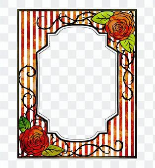 Book Roses Frame 03