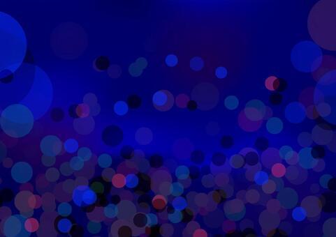 ネイビーの円形抽象背景素材テクスチャ